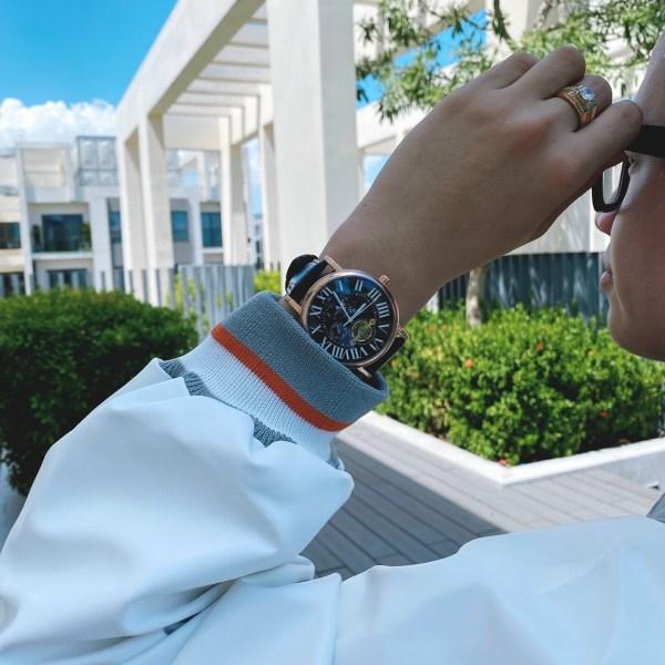 Đồng hồ Cartier nam máy cơ