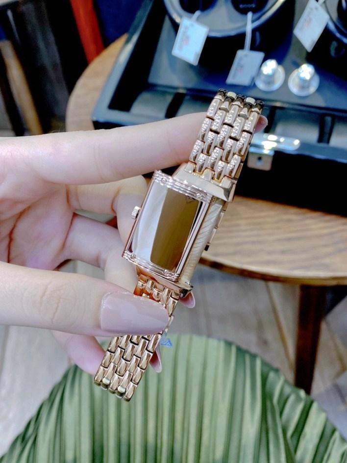 Đồng hồ Jaeger Lecoultre nữ dây kim loại