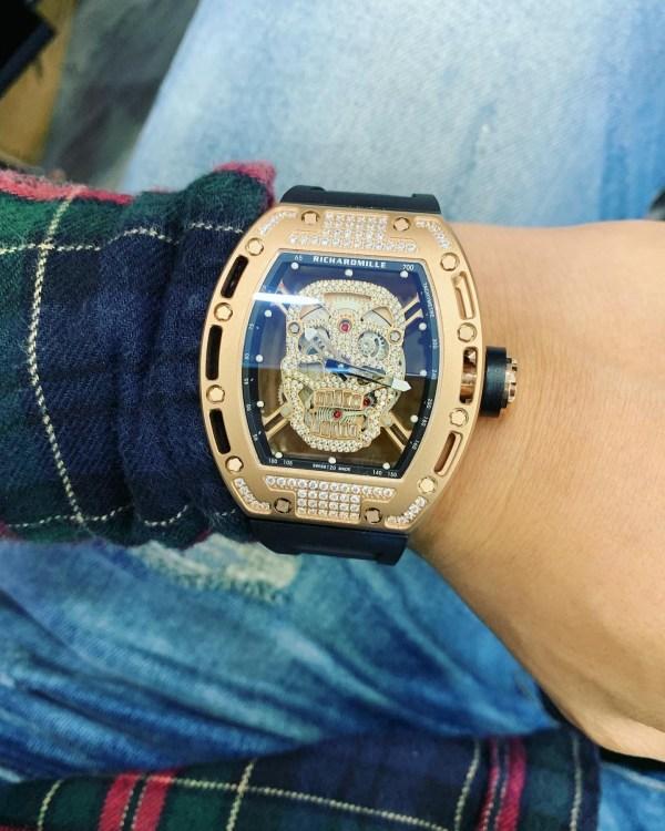 Đồng hồ Richard Mille nam đính đá
