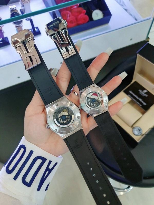 Đồng hồ Hublot cặp máy cơ automatic
