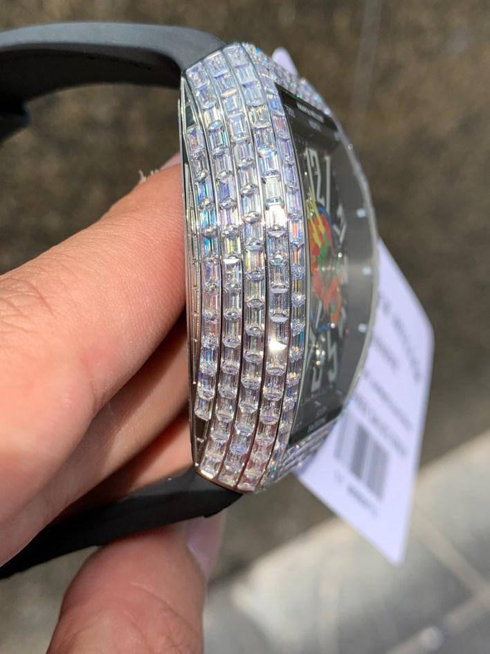 Đồng hồ nam đính đá Franck Muller