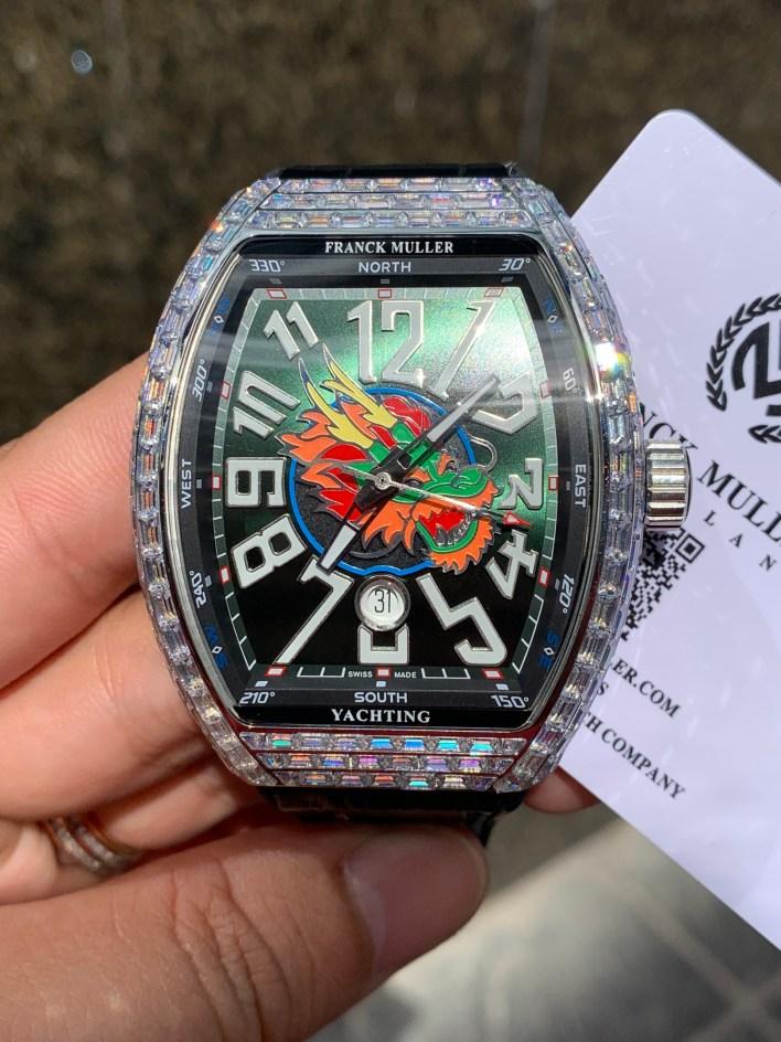 Đồng hồ siêu cấp Franck Muller V45
