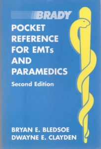 Pocket Reference for EMTs and Paramedics book cover