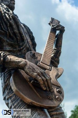 Statue of Bob Marley