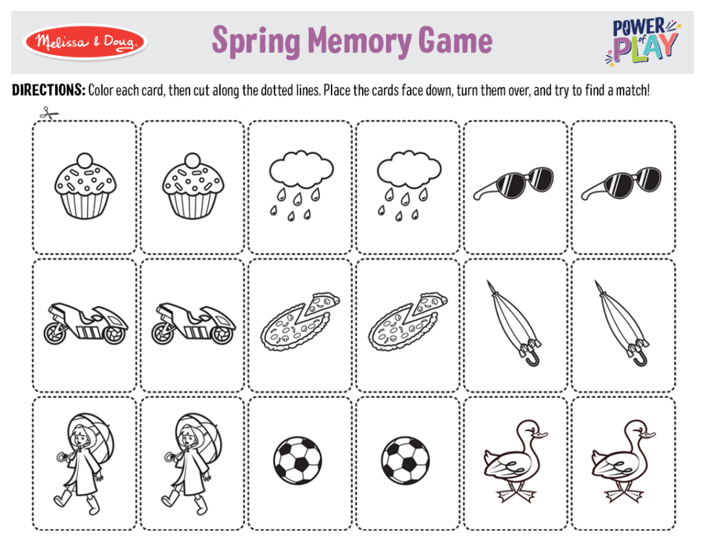 Printable Memory Games For Seniors That Are Clever