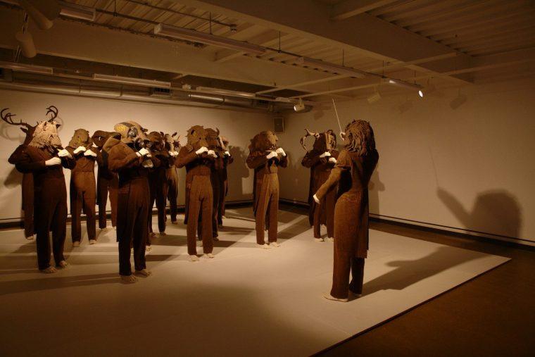 Attenborough Arts Gallery Lucy + Jorge Orta Exhibition
