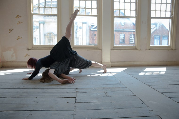 Scarlett Elizabeth Turner & Joey Mottershead colour contemporary dance natural light empty space old building