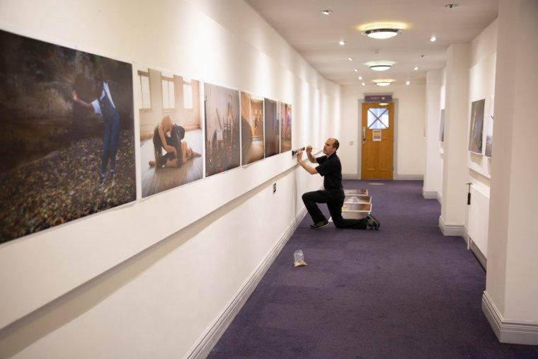 Geoff installing Fluid Dynamics at Déda in Derby, UK