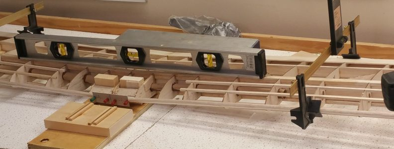 Prepped for Dowels
