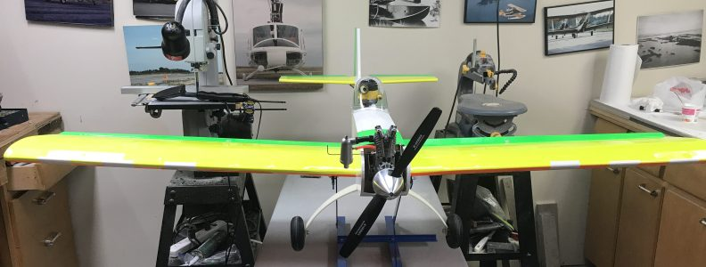 Finished Plane Front View