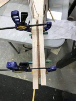 Stabilizer triangle blocks glued (top view)
