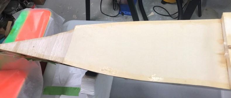 Bottom Tail Edges Fiber-Glassing
