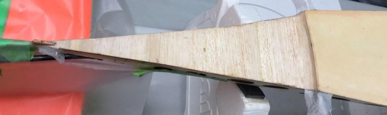 Sanded Bottom Tail Fiber-Glassed Edges