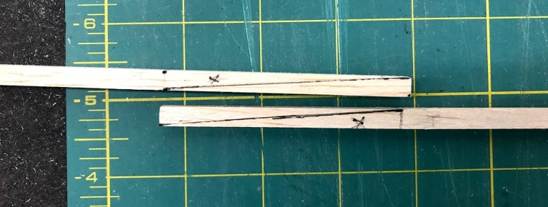 Scarf Joint Marked