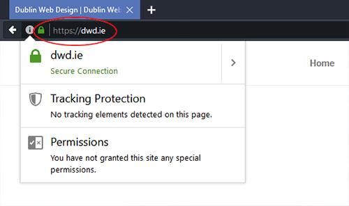 SSL Certificate | Dublin Web Design
