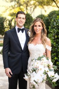 Amanda Gross and Bennett Aaron Real Wedding