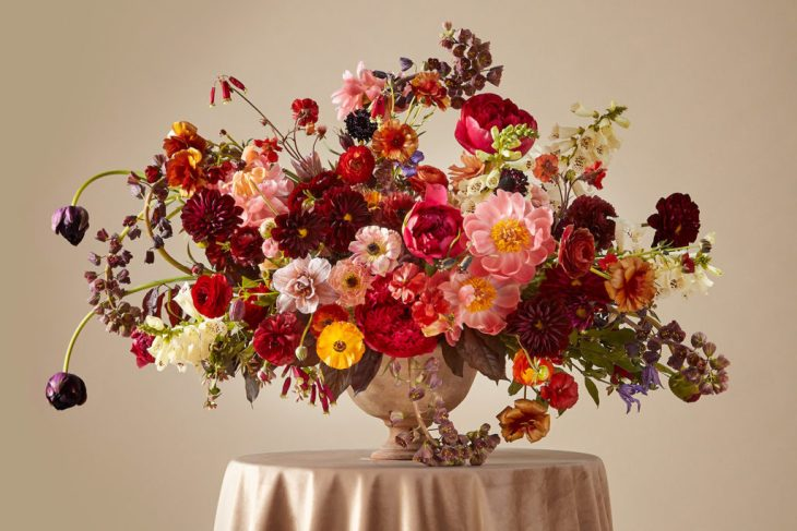 big wedding floral budget