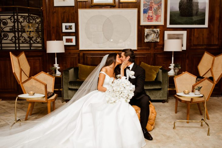 Diana Scharffenberger and Matthew Koch post ceremony