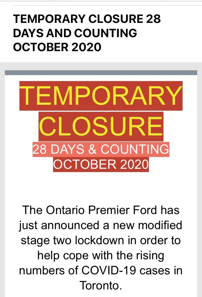 28 day closure