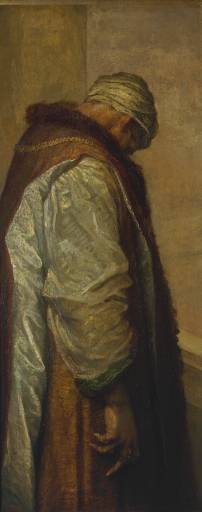"""""""For he had great possessions""""  by George Frederic Watts, 1894 (Tate Gallery, London)"""