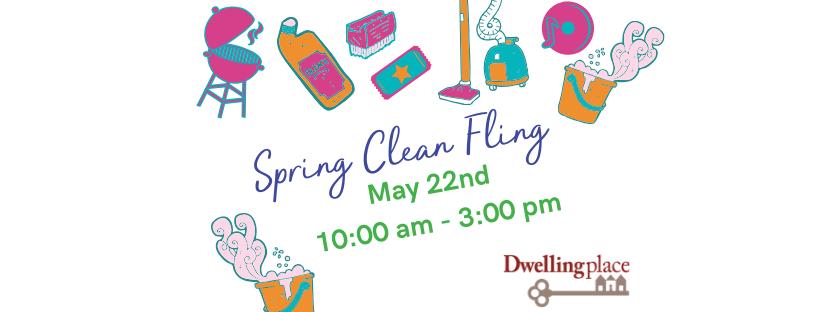 Spring Clean Fling flyer