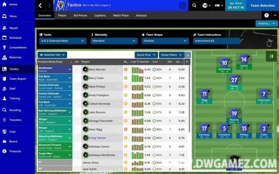 Football manager classic 2015 apk