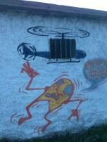 More Camino graffiti.
