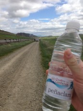 This is why we stayed at Cuanto Cantones, they deliver water to pilgrims on the trail.