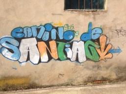 By far, my favorite piece of Camino graffiti.