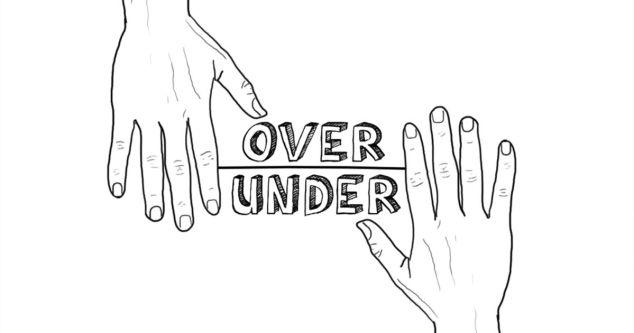 Image result for over under