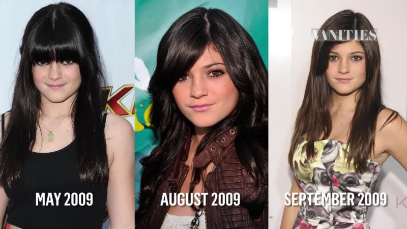 Watch The Evolution Of Kylie Jenner Vanity Fair Video CNE