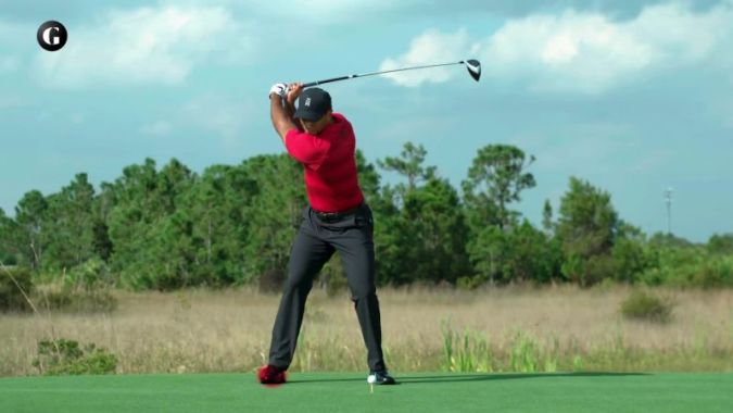 Watch The Miracle of Tiger Woods  Golf Swing   Golf Digest Video   CNE