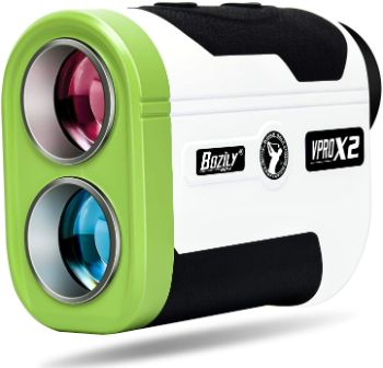 Bozily Golf Rangefinder, 1500 Yards 6X Hunting Laser Range Finder with Slope