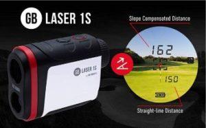 Golf Buddy Laser 1s Rangefinder Review slope