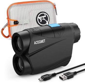 ACEGMET Golf Rangefinder, USB Charging Range Finder Golfing