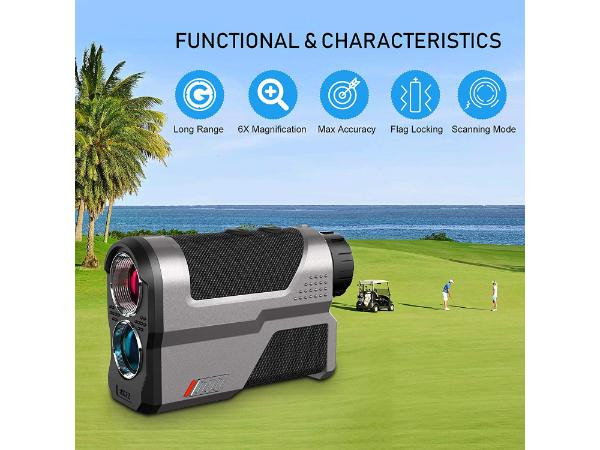 Wosports Rechargeable Golf laser Rangefinder With Slope Review