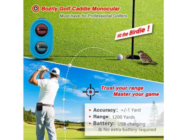 Bozily Golf Rangefinder with Slope 1