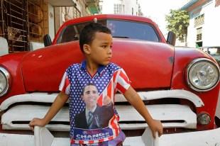 Cuban boy in Havana