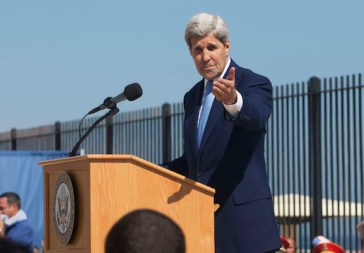 John Kerry @ U.S. Embassy in Havana