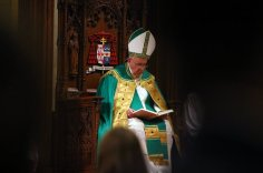 Pope @ St. Patrick's Cathedral