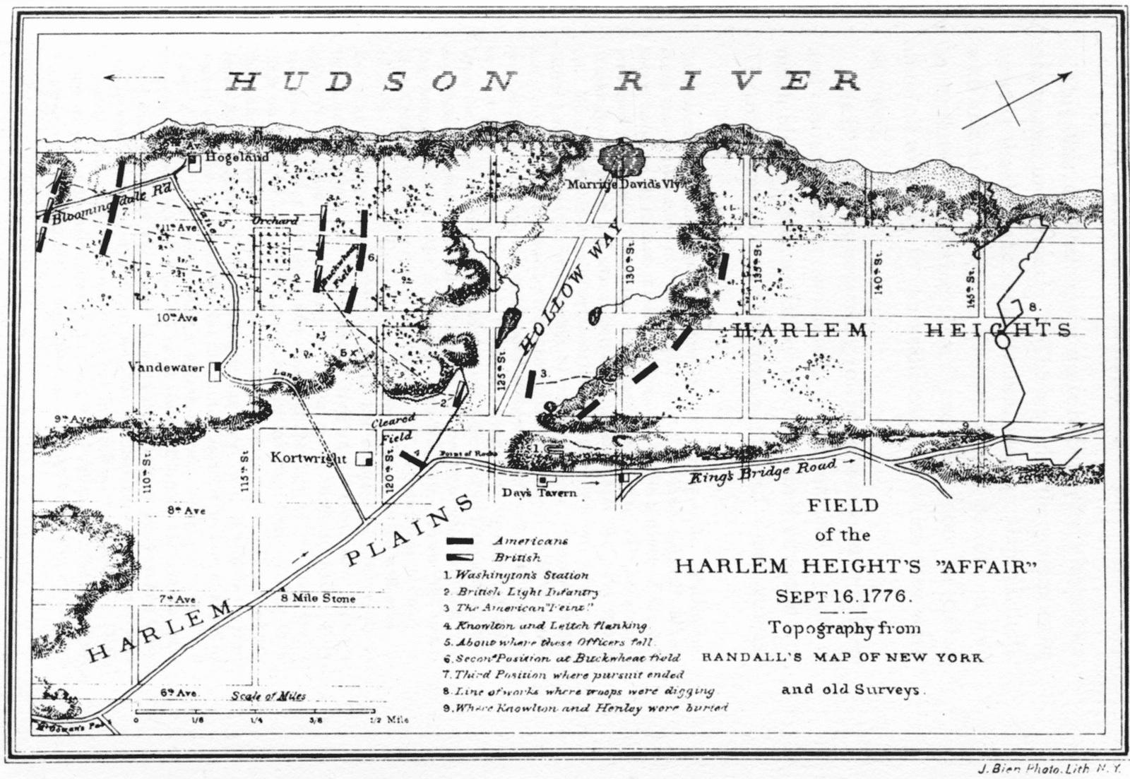 The American Revolutionary War The Battle Of Harlem