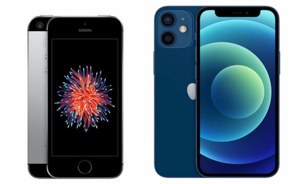 iPhone SE and iPhone 12 Mini