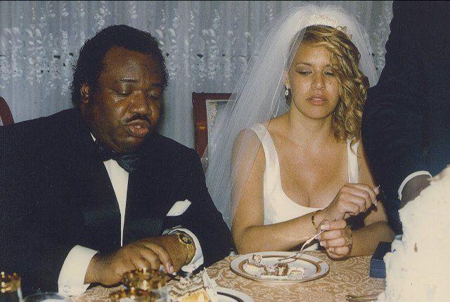 Ali Bongo et Inge Lynn Collins en 1991