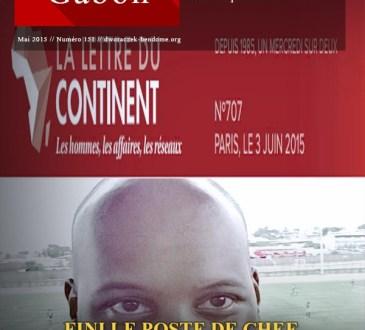 GABON : FINI LE POSTE DE CHEF DE CABINET DU PRESIDENT ALI BONGO POUR  SOLEMAN LIBAN