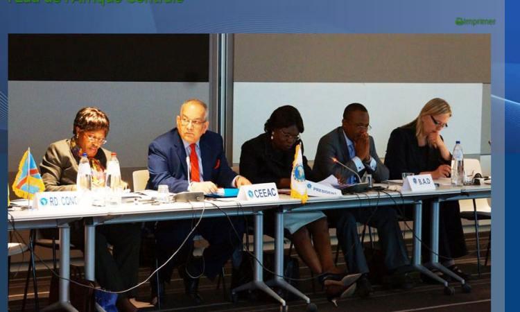 GABON-CEEAC-COP21 : L'EAU, C'EST LA PAIX ET LE DEVELOPPEMENT