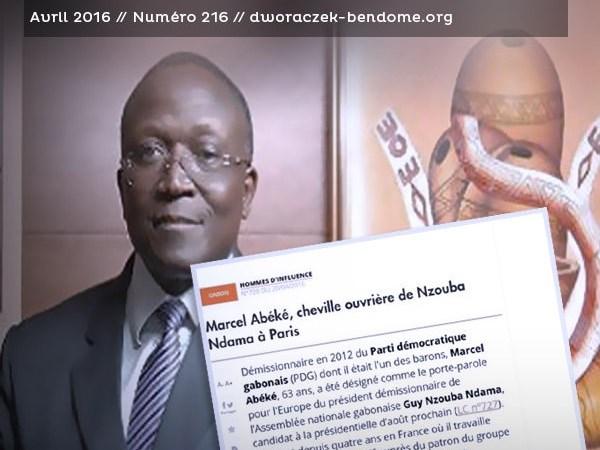 Gabon/Intox : Marcel Abeke n'est pas le porte-parole en France de Guy Nzouba Ndama