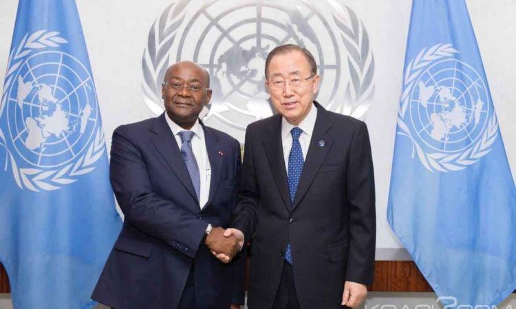 Gabon: Climat, Ban Ki Moon salue les initiatives gabonaises et félicite son «ami» Issoze Ngondet pour sa nomination à la primature
