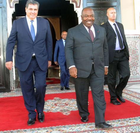 Le Président Ali Bongo Ondimba arrive à Marrakech - Climat-Conférence de l'ONU  : Arrivée du Président Ali Bongo Ondimba