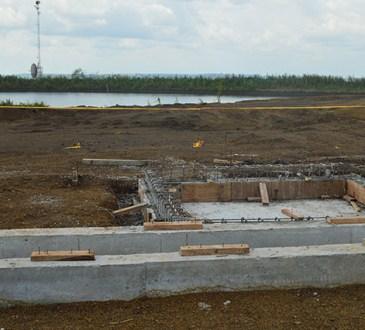 USINE PILOTE - Bientôt une usine de traitement de boue à Comilog