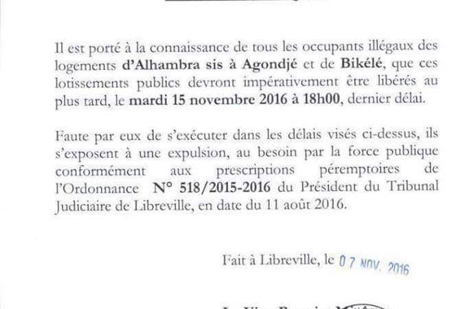 SQUATTEURS D'ANGONDJÉ ET BIKÉLÉ : le novice Bruno Moubamba face à la réalité